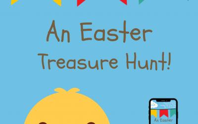 Outdoor Easter Treasure Hunt