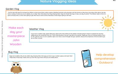 Nature Vlogging