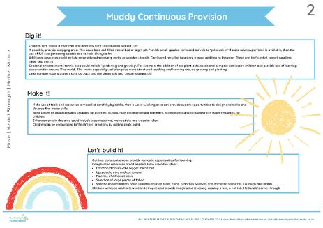 maths continious provision