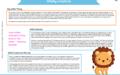 EYFS Wild Things