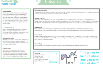 Early Years Outdoors Unicorns