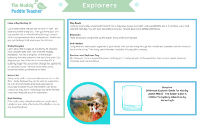 Early Years Outdoors Explorers