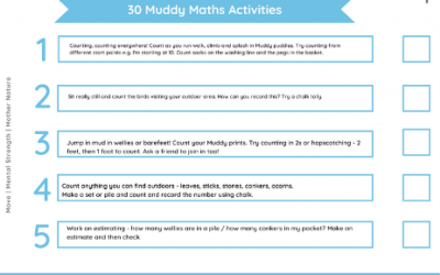 30 Outdoor Maths Activities