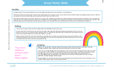 Early Years Gross Motor Skills (Ideas Pack)