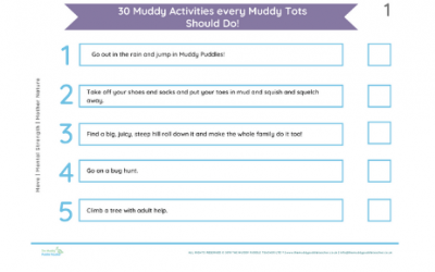 *FREE*30 Tots Outdoor Learning Activities (Home or Nursery pack)