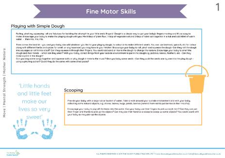 fine motor for babies