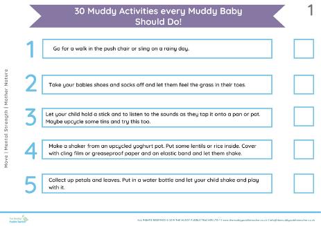 30 Outdoor Activities for Babies