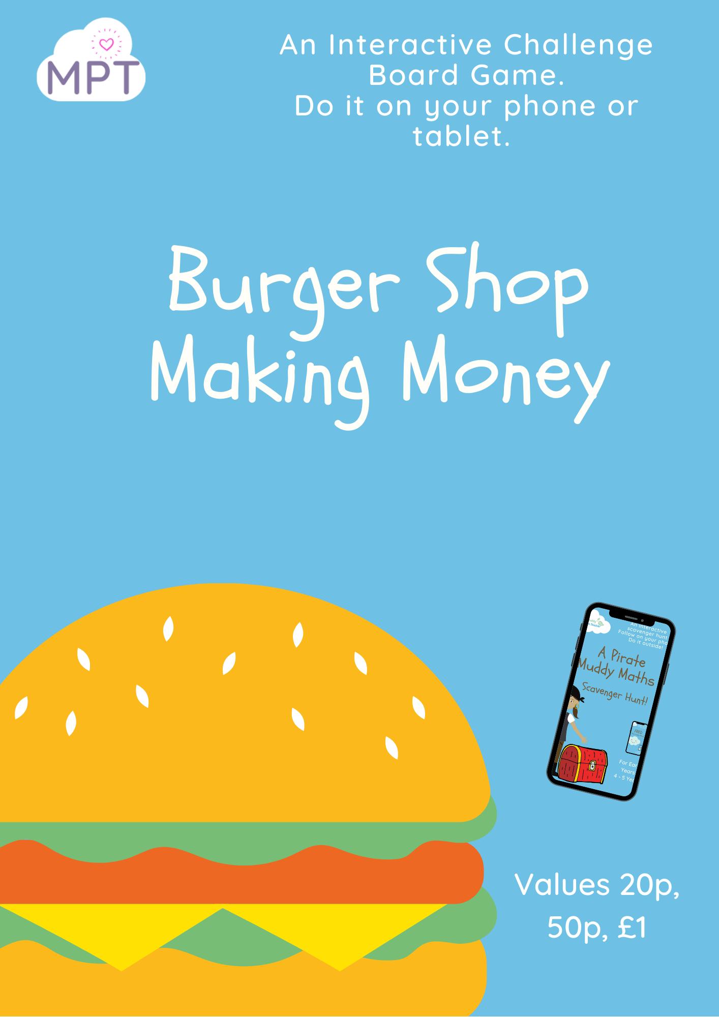 burger shop adding