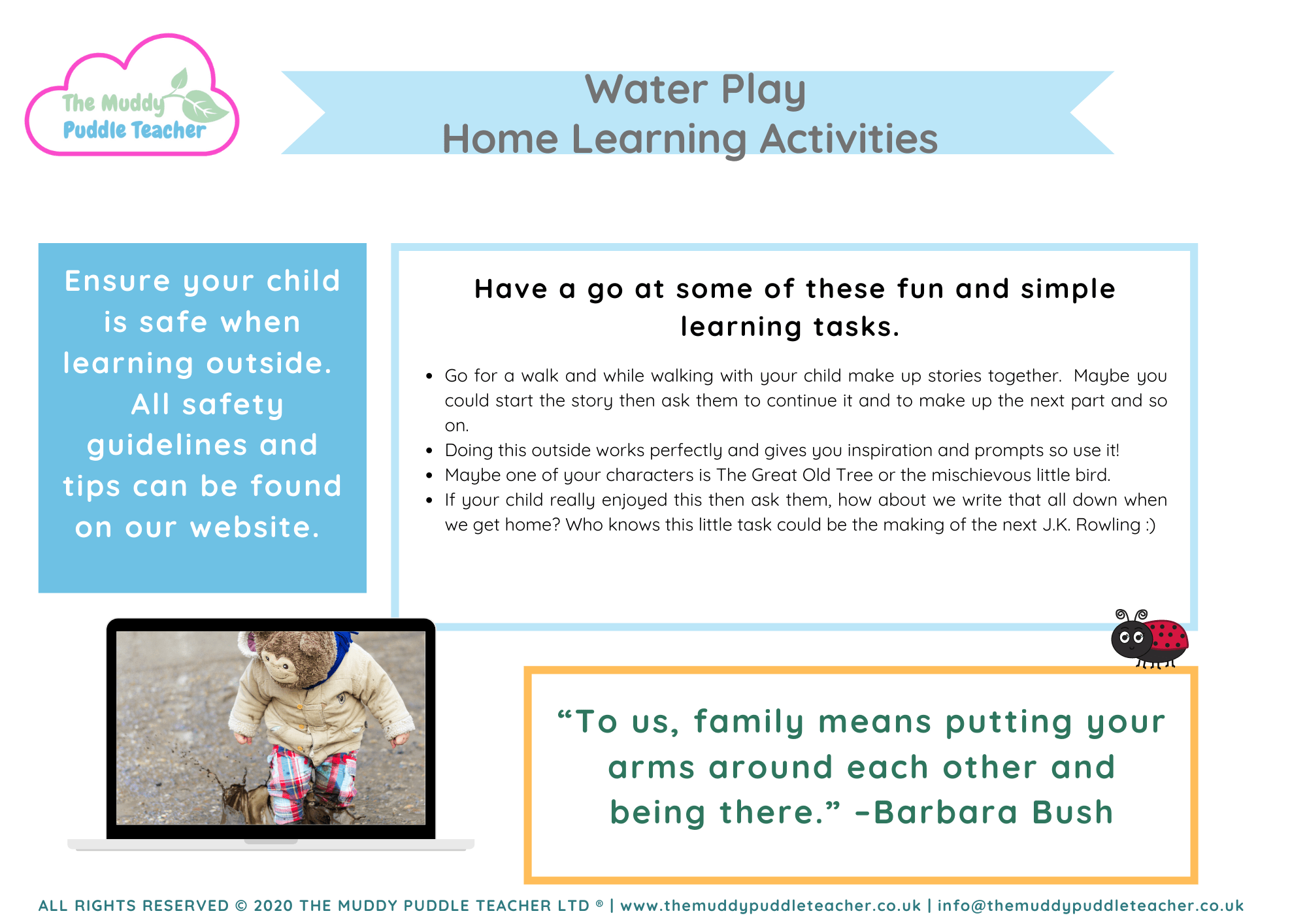 water and bubble play