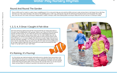 Water Play and Bubbles Ideas Pack