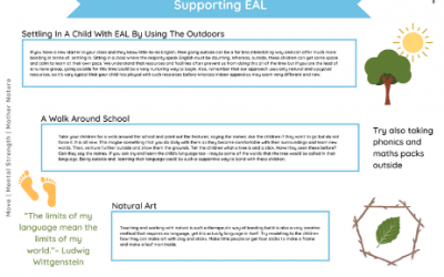 Using the Outdoors to Support EAL