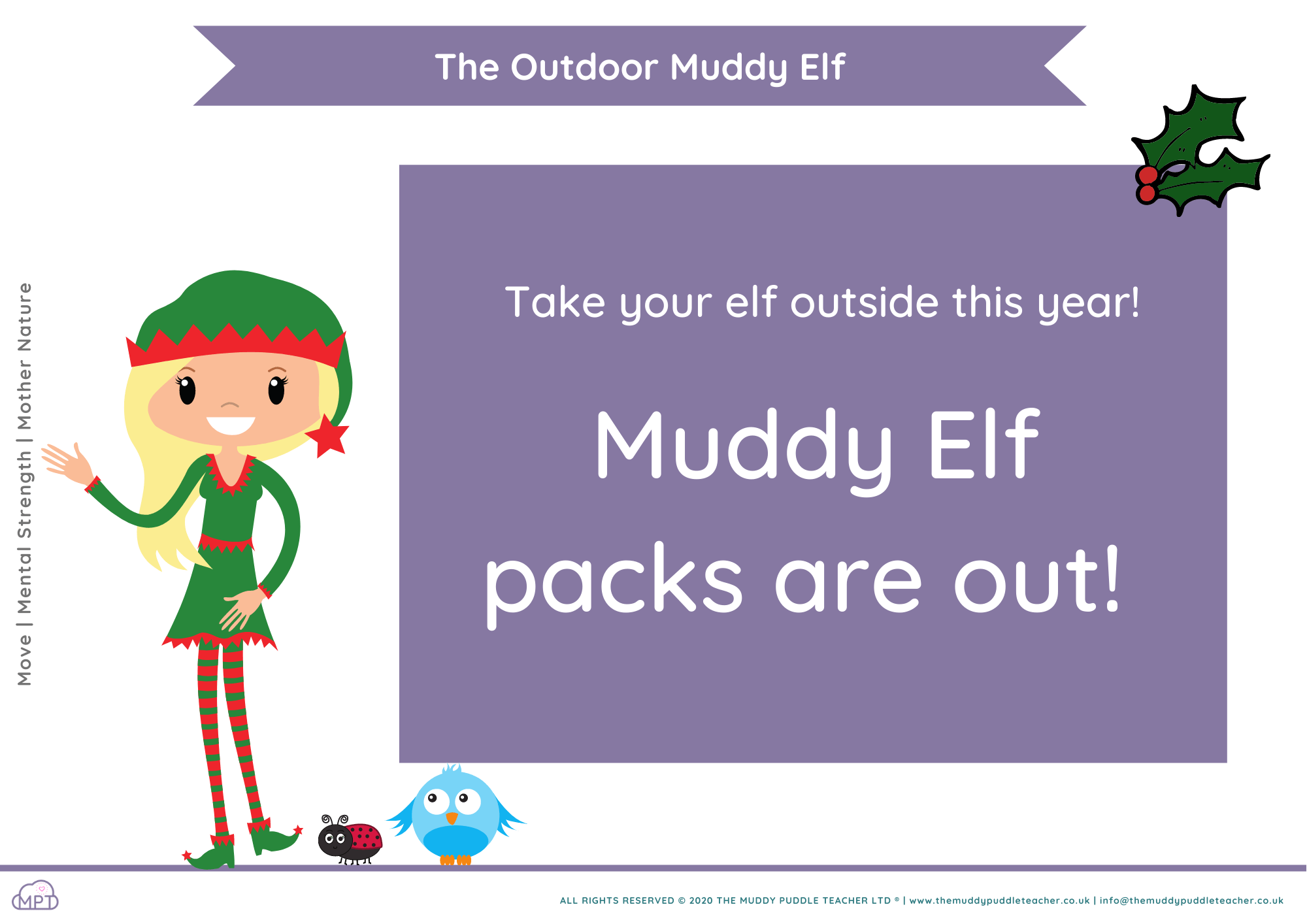 outdoor muddy elf