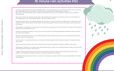 10 minute rain activities (KS2)