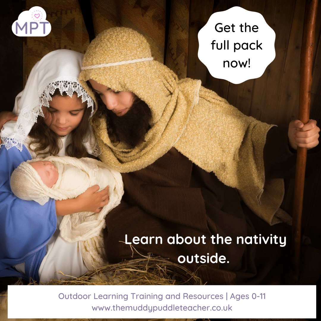 take your nativity outside
