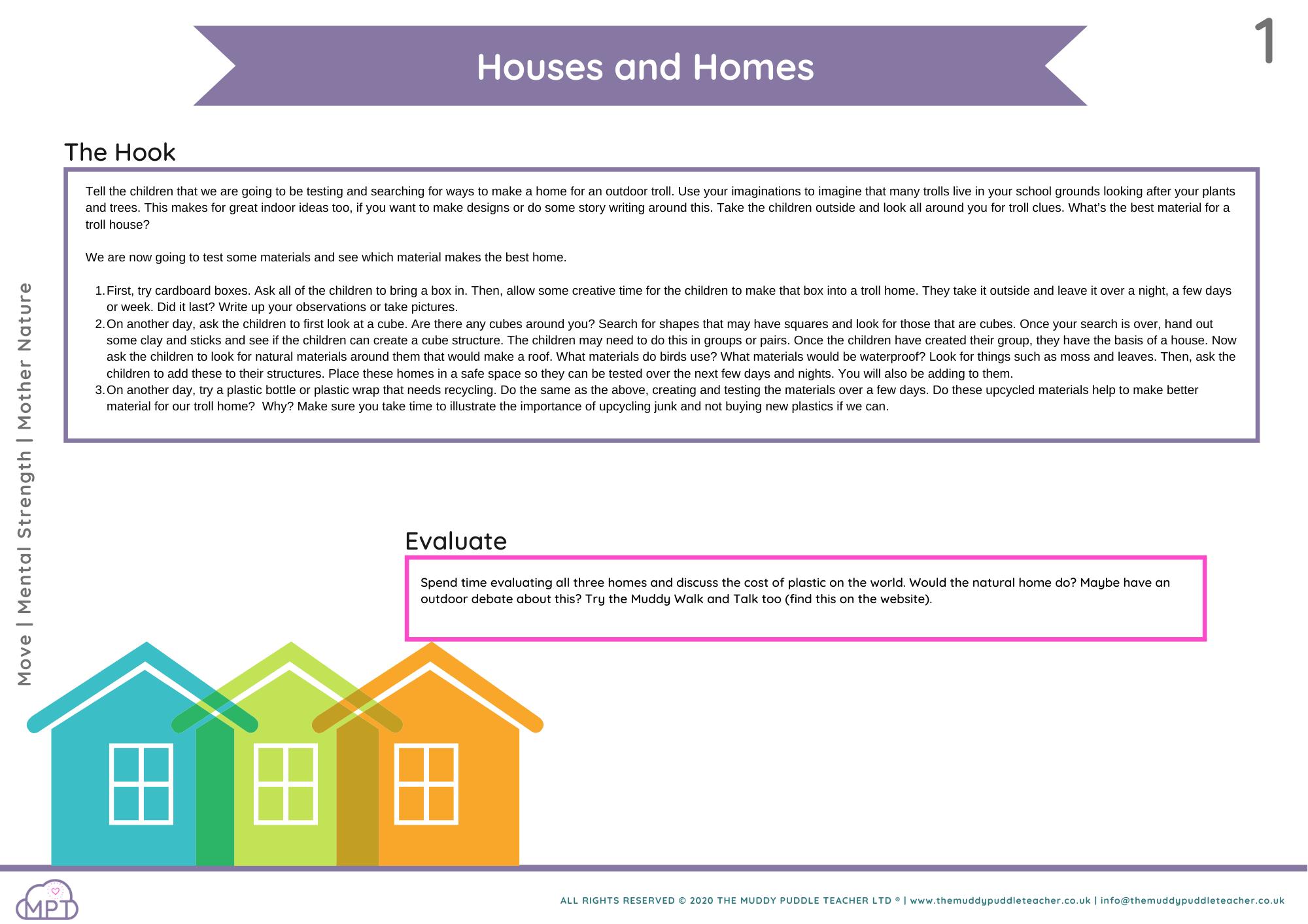 houses and homes ks1