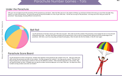 Parachute Number Games