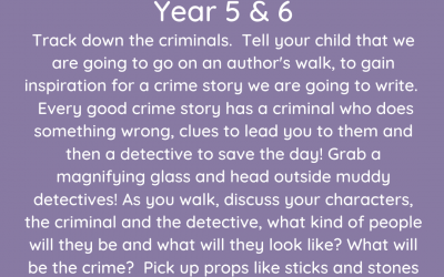 Day 3 – Whole School Lockdown Pack – Imagination Theme – Outdoor Learning (Babies to Year 6)