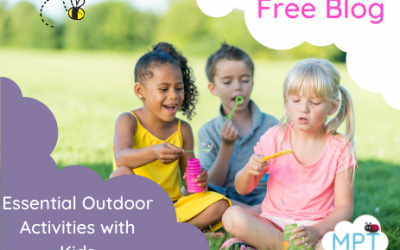 Essential Outdoor Activities with Kids *FREE BLOG*