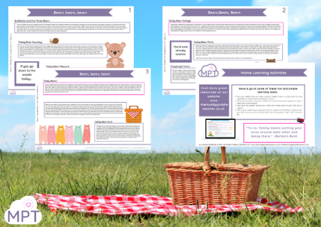Teddy Bears Picnic Ideas pack (Tots)