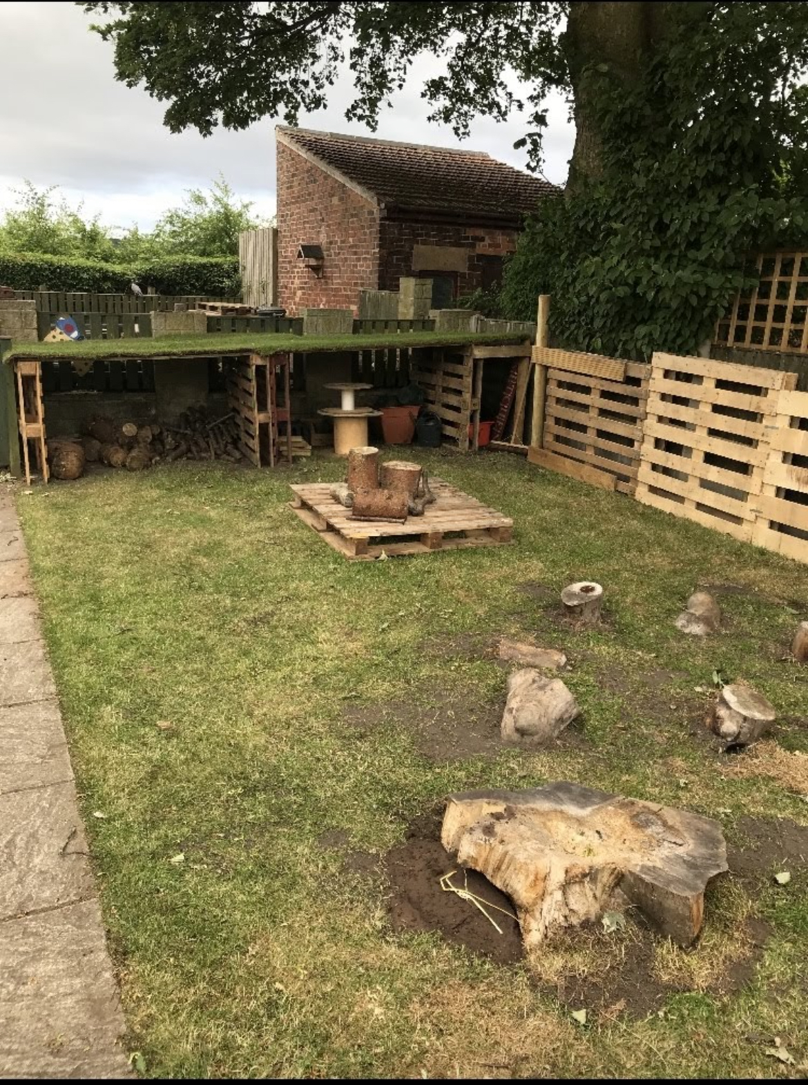 outdoor learning play spaces