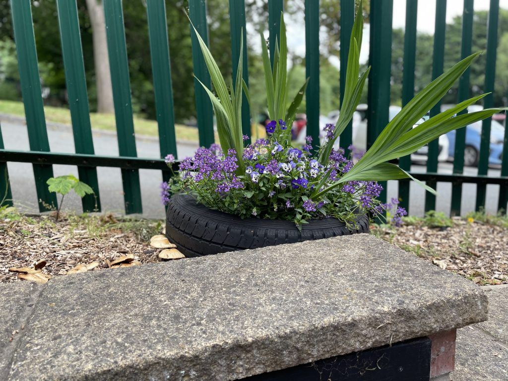 tyres for planting