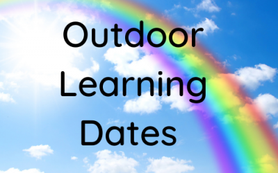 Outdoor Learning Dates 2021/2022