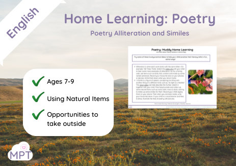 home learning poetry