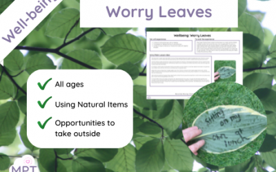 Well-being: Worry Leaves
