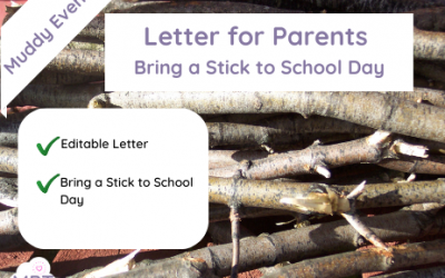 (Letter for Parents) Bring a Stick to School Day