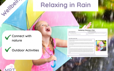 Relaxing in the Rain (Wellbeing)