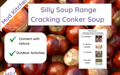 Mud Kitchen: Cracking Conker Silly Soup Recipe