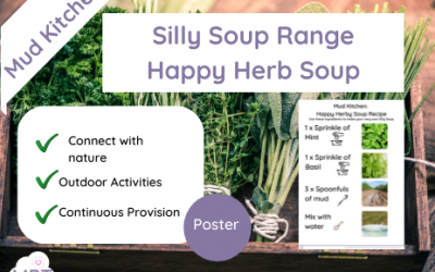 Mud Kitchen: Happy Herb Silly Soup