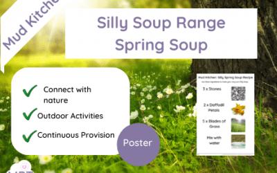 Mud Kitchen: Spring Silly Soup Range