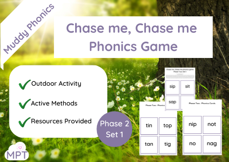 Chase me Chase me Phonics Game (Ph2 Set1)
