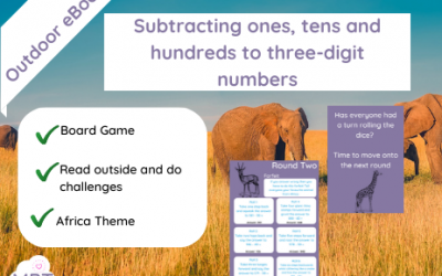 KS2 Subtracting ones, tens and hundreds to three-digit numbers