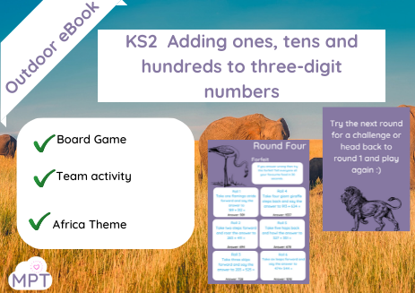 KS2  Adding ones, tens and hundreds to three-digit numbers