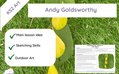 Andy Goldsworthy (Outdoor Art)
