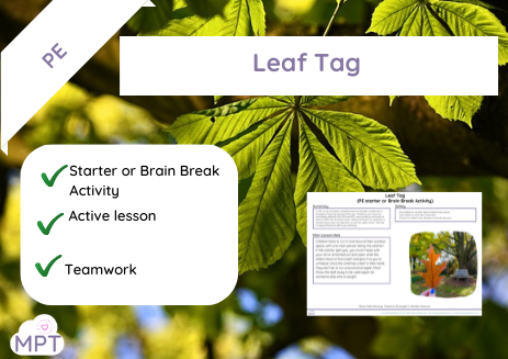 Leaf Tag (PE Starter or Brain Break)