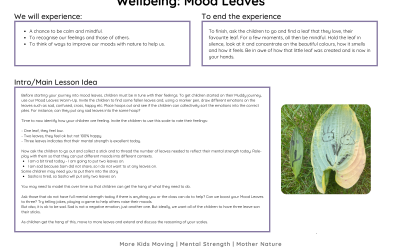 Well-being: Mood Leaves