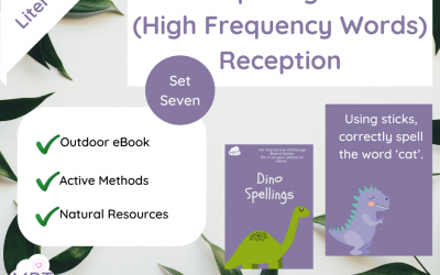 Spellings (High Frequency Words) – Set Seven