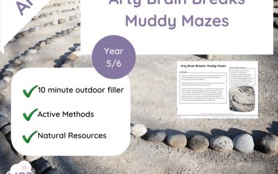 Arty Brain Breaks : Muddy Mazes